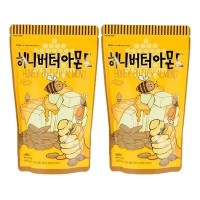 Honey Butter Almonds 200g (Pack of 2)