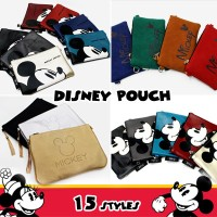 ?Disney Pouch Bag ? 15 Styles Disney Licensed / Korea Fashion / Mickey Mouse Bag / Minnie Pouch /...
