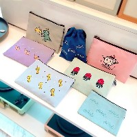 [NEW] SUM x Kitty Bunny Pony Collaboration SHINee Fabric Official Pouch