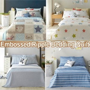 Embossed Ripple Cool Bedding Set/Blanket/Bed Pad/Queen/Single★Made In Korea★Air conditioning/Single...