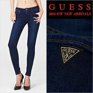 GUESS YG3D9168 DBL Womens No brush ultra ankle skinny jeans