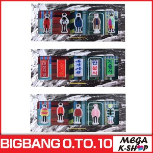 BIGBANG -BIGBANG BADGE [BIGBANG THE CONCERT 0.TO.10 FINAL IN SEOUL MD][公式グッズ][YG]