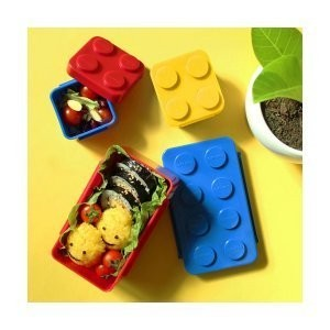 Oxford block lunchbox set