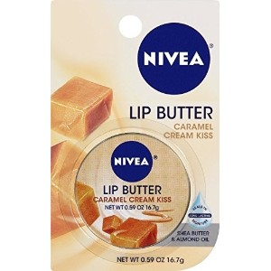Nivea Lip Butter Caramel Cream Kiss 0 59 oz (Pack of 6)