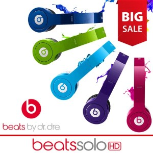 [Beats] Solo HD CT On-Ear Headphones (Discontinued by Manufacturer) Dre Solo HD With ControlTalk...