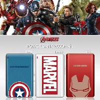 [Marble Genuine Powerbank] Avengers Card Type 2500mA auxiliary battery iphone galaxy samsung apple...