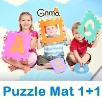 ★Puzzle Mat 1+1★Korea Hit Play Puzzle mat/Baby and kids safety mat/Playgym/Non-toxic EVA Puzzle Mat...