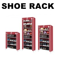 ★Shoe Rack★Shoes Rack + Cover/Multi Shoes Rack/Entrance Organizer Storage display Shelf/Shoe...