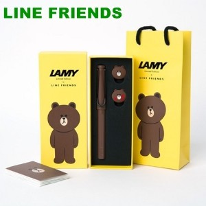 ★LINE FRIENDS Pen SEt★Limited Edition★Christmas Gift Set/Event Gift/Pen and Fountain Pen Set/Office...