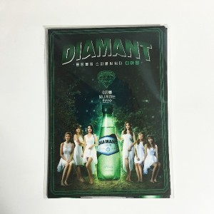 [Limited] K-POP Idol APINK with DIAMONT Drink Promotional Official Apink Photo Full Set