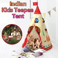 Kids Indian Tipi Tent/Baby/Native American teepee Tent Child/Children Toddlers Indoor And Outdoor...