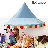 MARKETB Bed Canopy Skyblue/Baby/Kids/Children Canopies/Kids Room Decorating/Kids space/Playground...