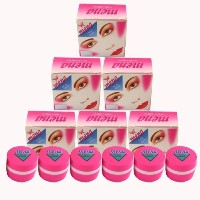 [アメリカ直送]6x3g MENA FACIAL PEARL CREAM SKIN WHITENING PURE VITAMIN E REMOVE ACNE DARK SPOT