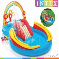 Outdoor rainbow water pool OL-36/ slides / child / dip / pleasure / summer / cool / Family Together...