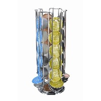 Home Free Shipping 24 Coffee Pod Holder Rotating Revolving Rack Tower Capsule Stand For Dolce Gusto