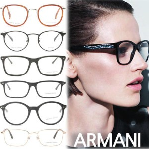 ARMANI Galsses Frames 47 Design / Free delivery / Frames / glasses / fashion goods / authentic /...