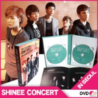 SHINEE The 1st CONCERT DVD 「SHINEE WORLSEOUL Live DVD【韓国盤DVD】シャイニー ソウル コンサートDVDD」 IN