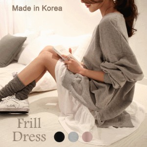 [something]Frill Layered Dress ★ Direct From Korea/High Quality/Frill Dress/Casual Dress