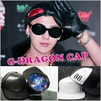 【送料無料】G-DRAGON CAP/GD concert cap / g-dragon / bigbang / 秋商品 / 88 / キャップ / ビッグバン/GIYONGCHY/CRAYON/ON