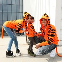 Tiger sweetshort matching mother and daughter clothes mom and daughter dress family clothes mommy...