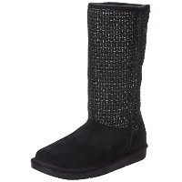 Skechers Womens Shelbys Copenhagen Snow Boot Black 7.5 M US