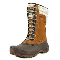 The North Face Shellista II Mid Boot Womens Dachshund Brown/Demitasse Brown 8
