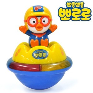 PORORO Melody Roly Poly Toy / Sound&Light Roly-Poly / Gift for Kids / Korean Kids Animation...