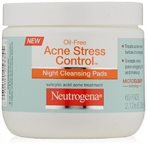 Neutrogena Acne Stress Control Night Cleansing Pads 60 Count
