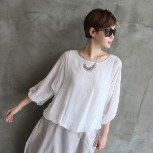 [zoozoom] Pin tuck balloon blouse 2TYPE / 22641