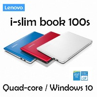 Lenovo レノボ i-Slim Book 100S Laptop Intel 4Core CPU Windows 10 Bluetooth 4.0 Slim light スーリムライト ...