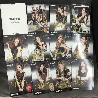 SNSD少女時代 - CASIO BABY-G BABYG OFFICIAL PHOTO POSTカードセット// SNSD GIRLS GENERATION - CASIO BABY-G...