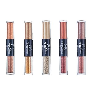 TouchinSOL metallist liquid foil & glitter shadow duo 01 / marguerite / eye shadow / eye make up /...