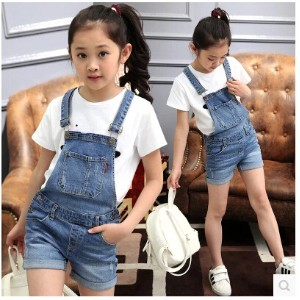 Childrens clothing cowboy pants 2016 summer new cotton cloth shorts in the big childrens casual ha