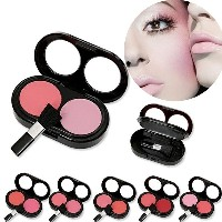 two make up blush color diversity blusher Palettes red pink fashion colors blush