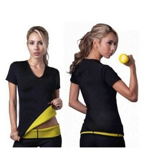 2016 Hot Body Shapers T-shirt Hot Shapers Stretch Neoprene Slimming Vest Body Shaper Control Vest...