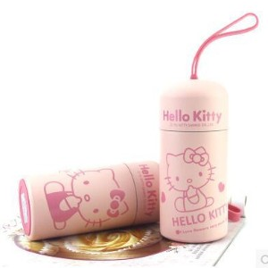 Hello Kitty Cup stainless steel portable hot water bottle leak - proof cartoon female students...