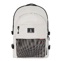 【ABROAD正規品】エービーロード Crazy Backpack (White)