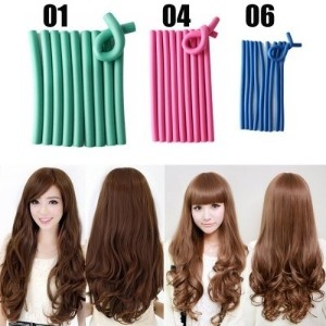 10PCS DIY Hair Curling Rods
