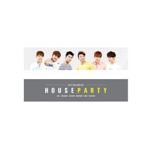 2PM スローガン(応援タオル)【2PM HOUSE PARTY GOODS】 2PM公式グッズ
