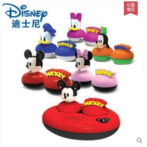 Authentic Disney US-pupil invisible glasses cleaner nano silver double Nursing automatic cleaning...