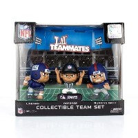 [アメリカ直送]Lil Teammates NFL Figures Collectible Team Set 3 Pack - New York Giants[フィギュア][Figures]...