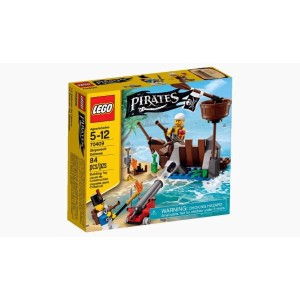 LEGO 70409 Shipwreck Defense box art and picture