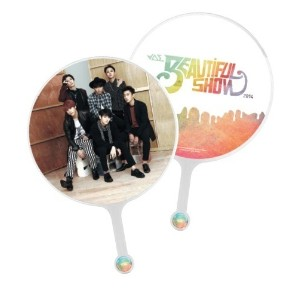 BEAST (B2ST) - Official Goods : 2014 BEAUTIFUL SHOW Big Fan + Free Gift