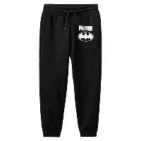 プーマ STYLE BATMAN SWEAT PANTS メンズ Cotton Black