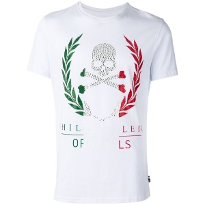 Philipp Plein - Laurel wreath Tシャツ - men - コットン - XL