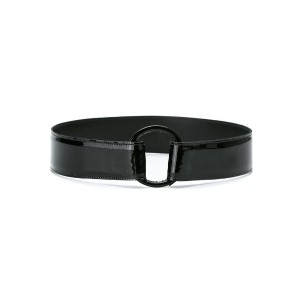 Egrey - leather belt - women - レザー - M