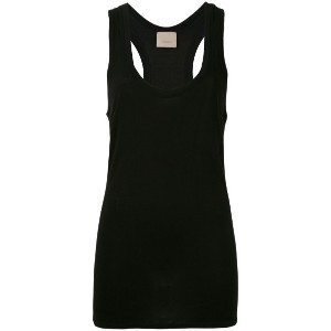 Laneus - long sleeveless tank top - women - ポリアミド/ビスコース - XS