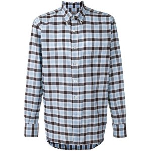 Canali - checked shirt - men - コットン - XXL