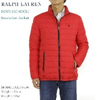 POLO by Ralph Lauren Boy's Insulation Quilt Jacket USラルフローレン ボーイズサイズの化繊インサレーションジャケット