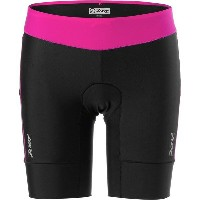 ズート レディース サイクリング スポーツ ZOOT Active Tri 8in Short - Women's Passion Fruit/Black
